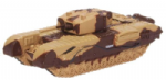Oxford Diecast NCHT001 Churchill Tank Kingforce